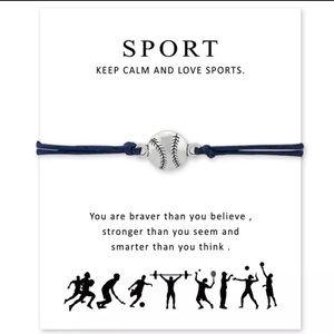 Baseball ⚾️ Charm Bracelet
